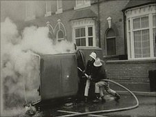 The Handsworth riots in 1985