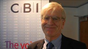 Richard Lambert, director-general, CBI
