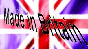 Made in Britain on a Union Jack