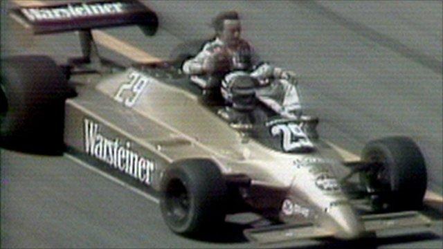 Rene Arnoux and Ricardo Patrese
