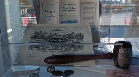 Glasgow shipping memorabilia
