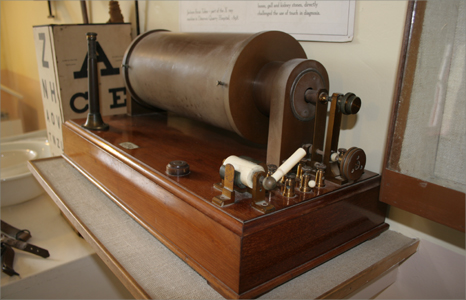 Early x-ray machine