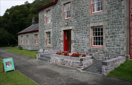 Dinorwig's quarry hospital, Llanberis