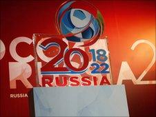 Russia 2018/2022 bid
