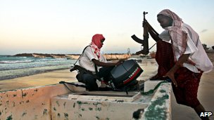 Somali pirates, file image