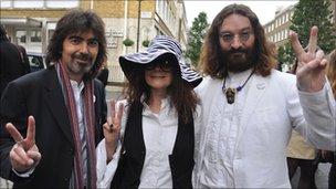 From left: Glen Knowler, Samantha Trew, Alastair Trew
