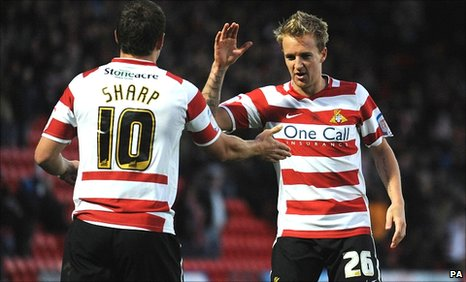 Billy Sharp and James Coppinger