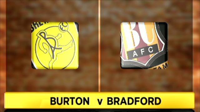 Burton Albion 3-0 Bradford City