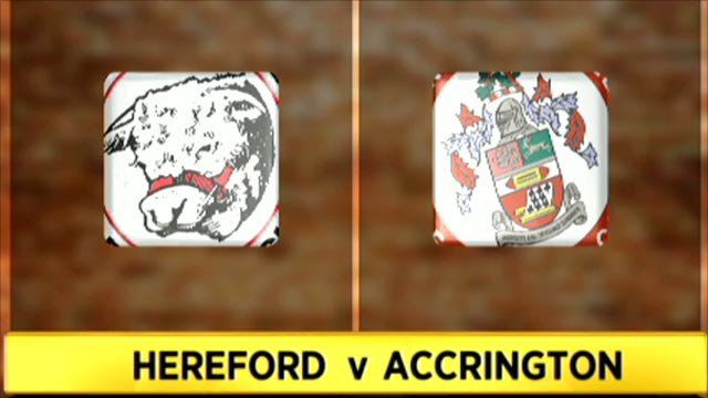 Hereford 1-1 Accrington