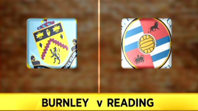 Burnley 0-4 Reading