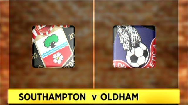 Southampton 2-1 Oldham