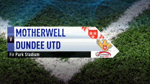 Motherwell v Dundee Utd