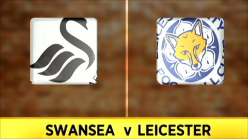 Swansea 2-0 Leicester