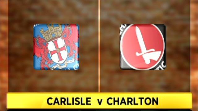Carlisle 3-4 Charlton