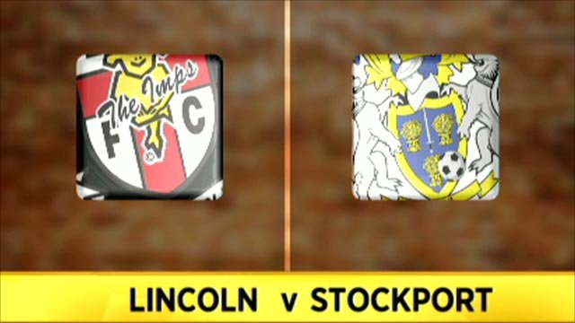 Lincoln 0-0 Stockport