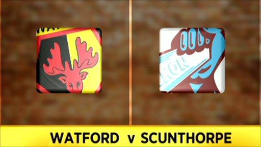 Scunthorpe 2-0 Watford
