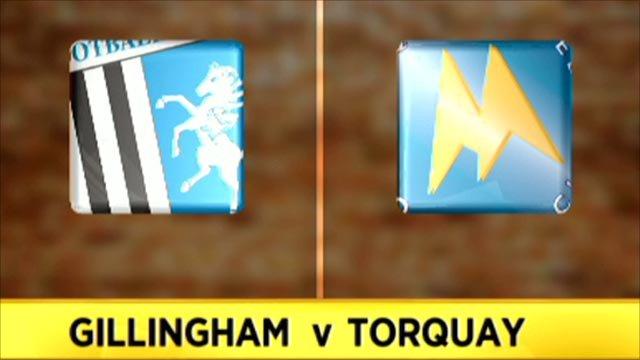 Gillingham 1-1 Torquay