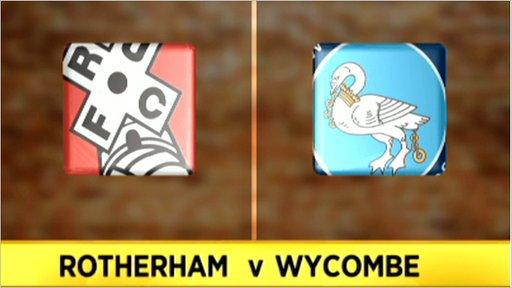 Rotherham 3 - 4 Wycombe