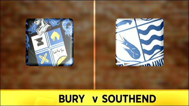 Bury 1-0 Southend