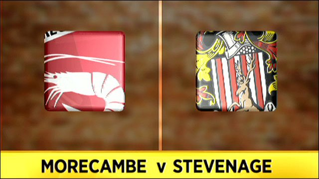 Morecambe v Stevenage