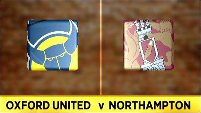 Oxford Utd v Northampton