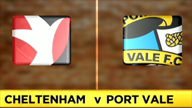 Cheltenham 0-0 Port Vale