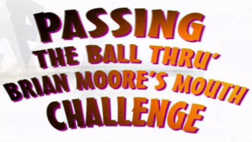 Brian Moore's mouth - the challenge
