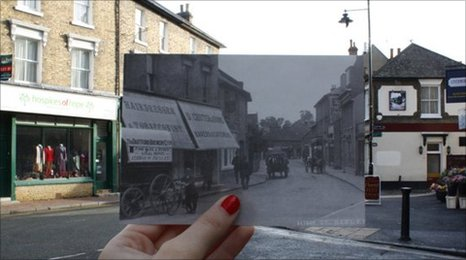 Then and now - Bexley High Street