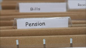 Pension files