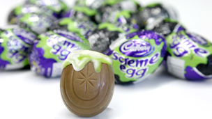Cadbury's new Screme Egg chocolate