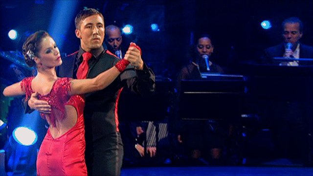 Gavin Henson dances with partner Katya Virshilas