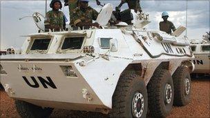 BBC News – UN in Sudan border clash warning