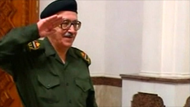 BBC News – Tariq Aziz, Iraqi ex-minister, sentenced to death