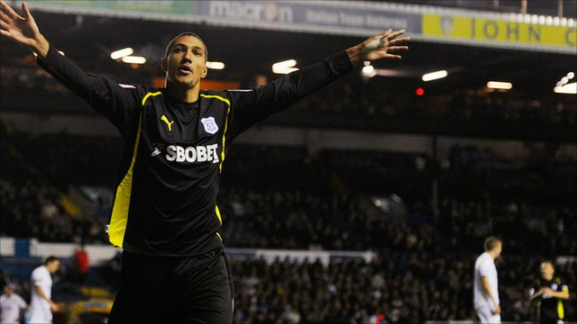Cardiff's Jay Bothroyd celebrates