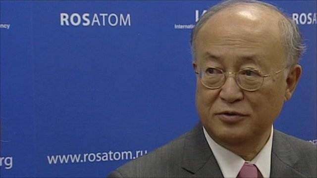 International Atomic Energy Agency's director general Yukiya Amano