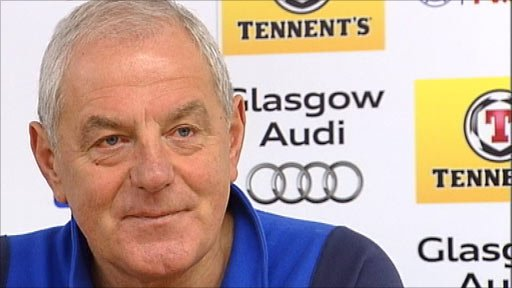 Rangers manager Walter Smith
