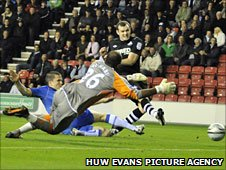 Craig Beattie found the net but had his goal disallowed