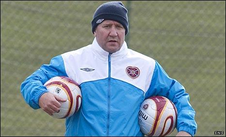 John Robertson assists Hearts coaching