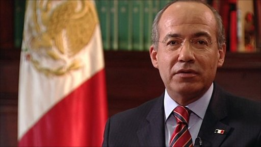 Mexico's Calderon: US not doing enough in drugs war