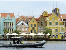 Willemstad, capital of Curacao