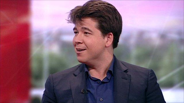 Michael McIntyre on BBC Breakfast
