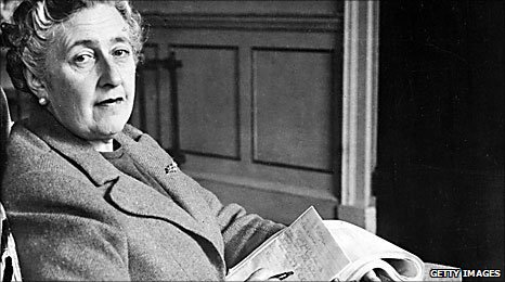 Agatha Christie pictured at Greenway in 1946