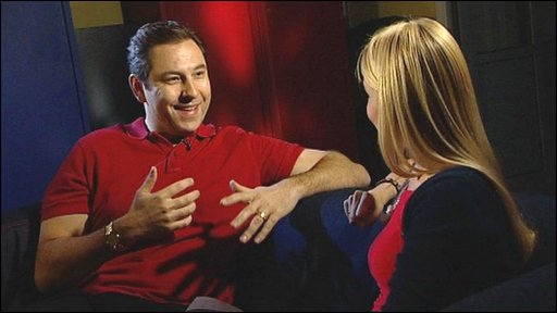 David Walliams talks to Hayley about his idea for a new swimming challenge for charity