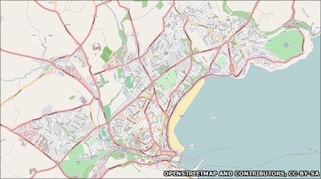 Image copyright OpenStreetMap and contributors, CC-by-SA