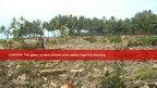 View of the remains of the tsunami-hit Muntei Baru Baru village. Picture taken October 26, 2010.