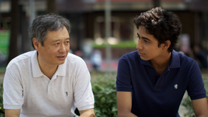 Ang Lee and Suraj Sharma