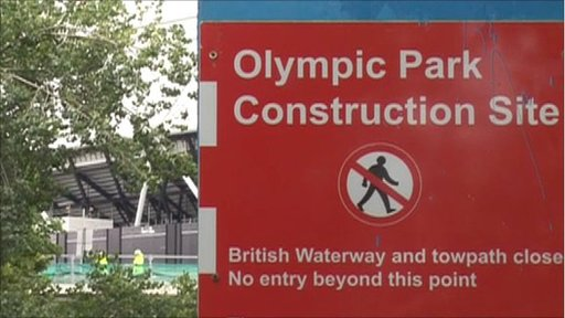 Olympic Park site border