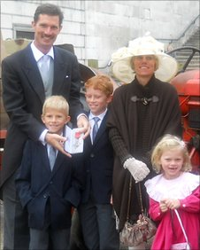 Ben Freeth MBE and family