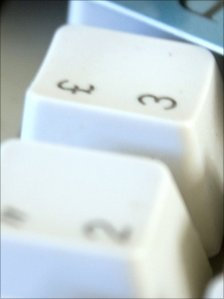Keyboard close-up