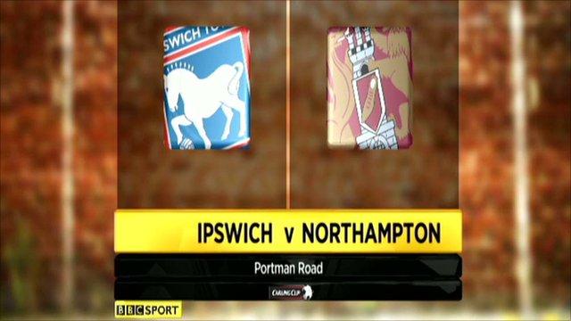 Ipswich 3-1 Northampton